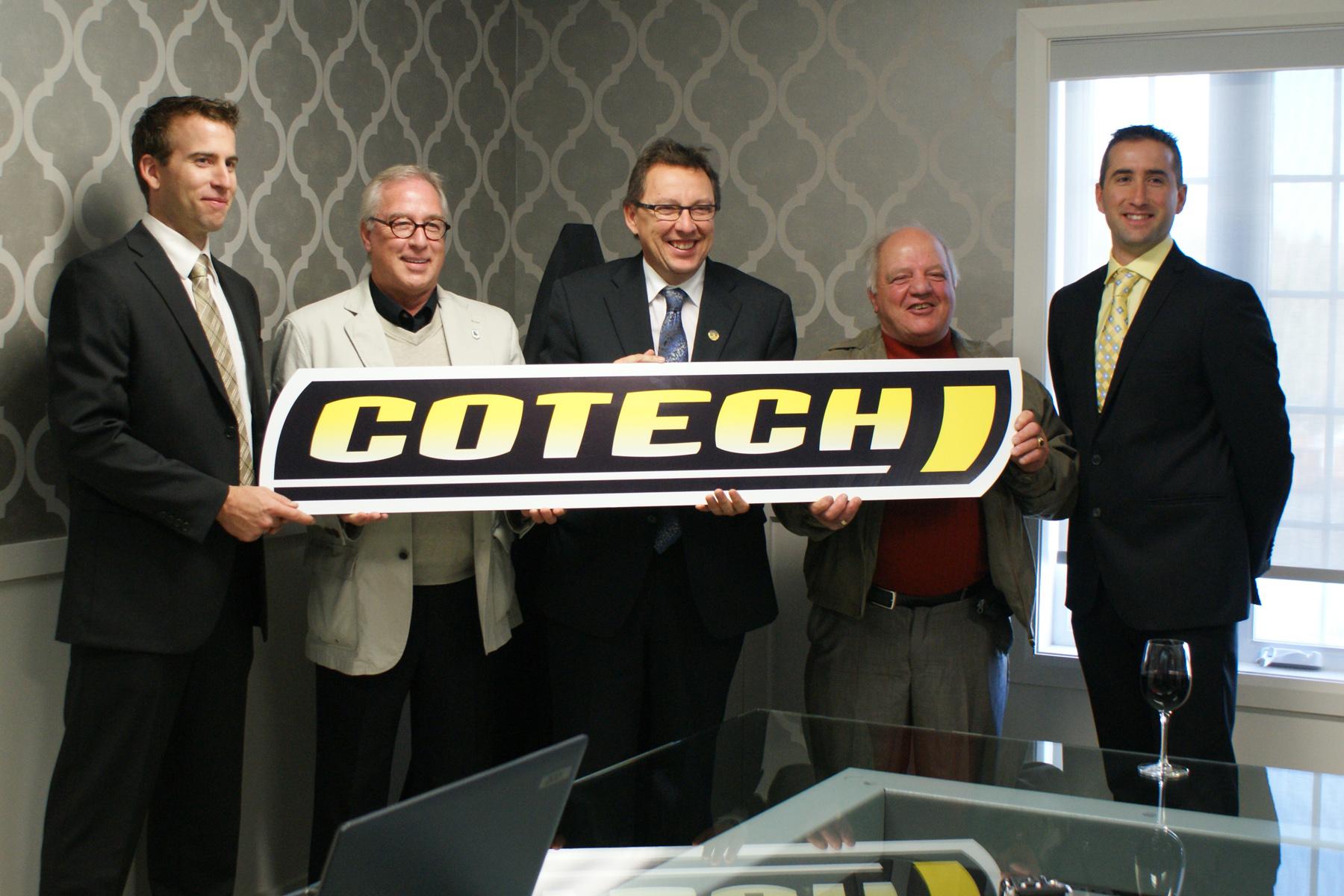 nouveau logo cotech
